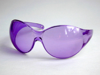 Real Purple Glasses