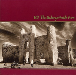 The Unforgettable Fire Front Sleeve