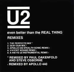 Even Better Than The Real Thing Remixes Front Sleeve