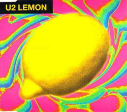 Lemon Promo CD Version Front Sleeve