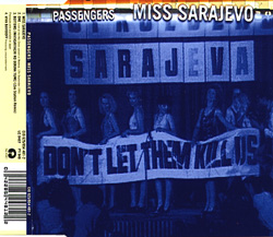 Miss Sarajevo CD Version Front Sleeve