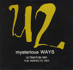 Mysterious Ways Australia Bonus CD Version Front Sleeve