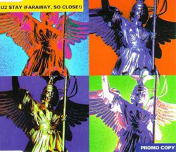 Stay (Faraway, So Close!) Promo CD Version Front Sleeve