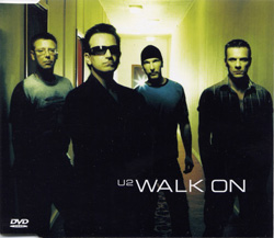 Walk On DVD Version Front Sleeve